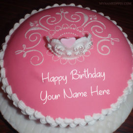 Princess Birthday Wishes Name Cake Pictures