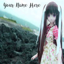 Write Name On Beautiful Doll DP Pictures