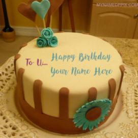 Write Name On Boyfriend Birthday Wishes Cake Pictures
