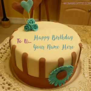 Write Name On Boyfriend Birthday Wishes Cake Pictures