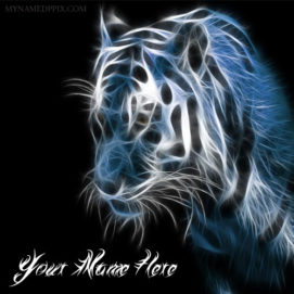 Write Name On Cool Lion Profile Pictures
