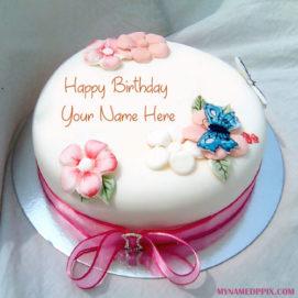 Birthday Wishes Beautiful Name Writing Cake