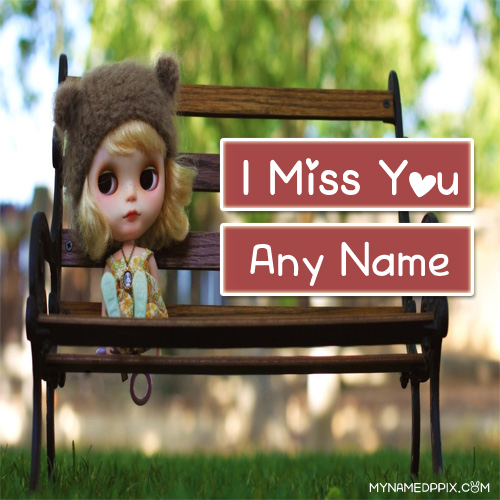 Cute Doll Miss You Name Profile Image