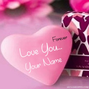 Forever Love U With Name Profile Image
