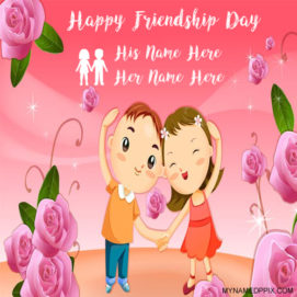 Best 2017 Happy Friendship Day Wishes Two Name Pictures