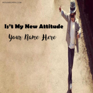 It't MY New Attitude Look Cool Boy Profile Name Pictures