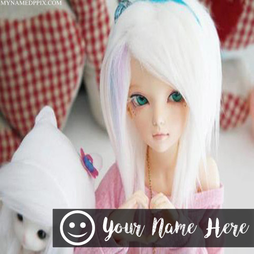 Write Girl Name Smile Cute Doll Profile Pictures Editing