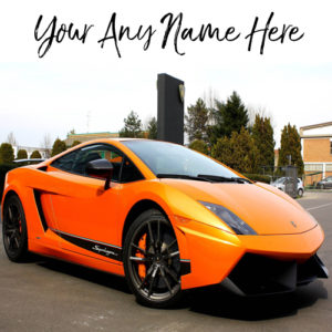 Cool Sports Car Name Print Whatsapp Profile Pictures