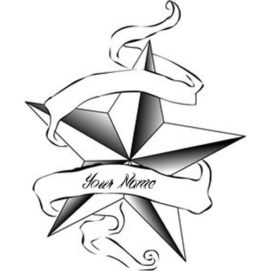 Cool Star Tattoo Profile Set Name Picture Edit Online