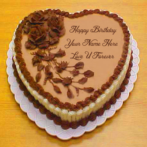Happy Birthday Cake Lover Name Forever Love Pictures