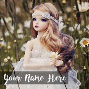 Awesome New Princess Doll Name Writing DP Profile Photo