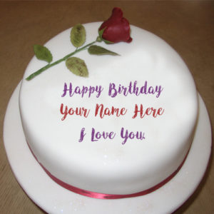 Love U Happy Birthday Cake Wishes Name Profile Pictures