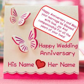 Unique Wedding Anniversary Card Names Wishes Profile Pics