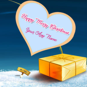 Specially Name Write Christmas Wishes Beautiful Pictures