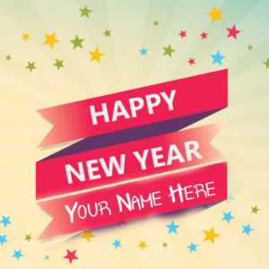 Unique Best New Year 2018 Wishes Picture Sent Name Write