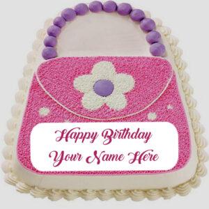 Girl Birthday Wishes Fashion Cake Name Write Profile Status Pictures