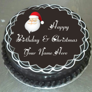 Happy Christmas Birthday Wishes Name Cake Wishes Pictures Create