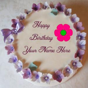 Write Name Red Rose Birthday Wishes Cake Image Online Editor