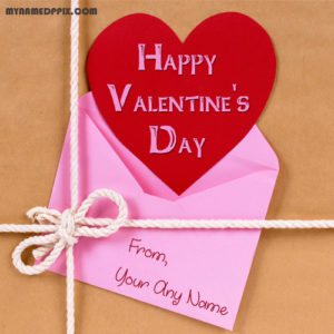 2018 Happy Valentine Day Wishes Name Edit Photo Create Online