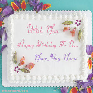Birthday Wishes Decoration Cake Name Write Pictures Status Photo