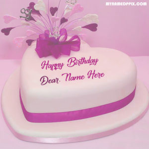 Write Name Happy Birthday Beautiful Cake Status Pictures