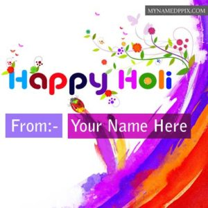 Beautiful Holi Name Edit Photos High Quality Pictures