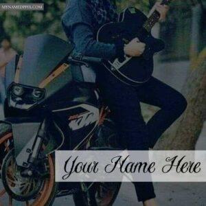 Guitar Handsome Boy Name Write Profile Status Images Create
