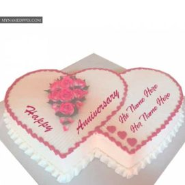 Happy Anniversary Wishes Status Profile Images Couple Name Write