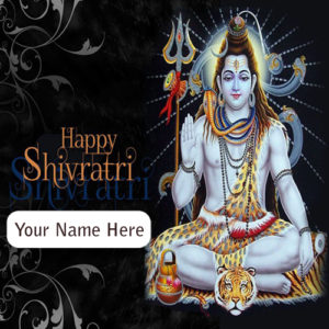 Happy Shivaratri Wishes Name Edit Photo Sent Online