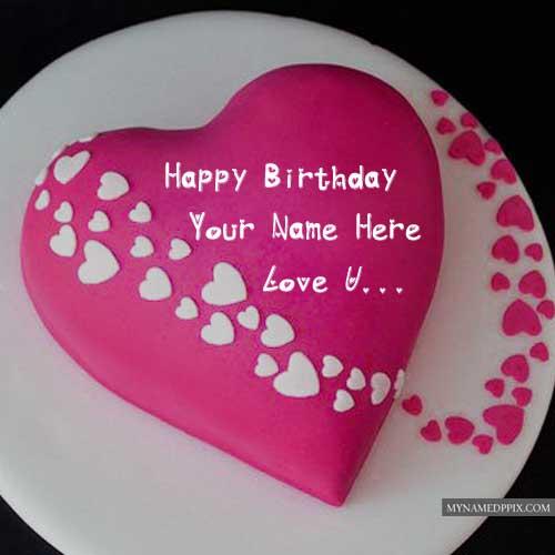 Beautiful Love Happy Birthday Cake Cake Shop Mocart Facebook