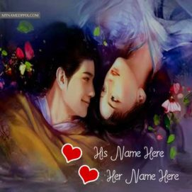 Couple Picture Online Name Write Romantic Lover Photo Profile Pics
