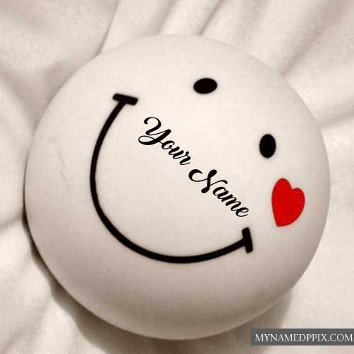 Cute Smile Ball Profile Name Write Pictures Edit Online