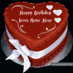 Happy Birthday Cake Name Photo Lover Wishes Pictures Send