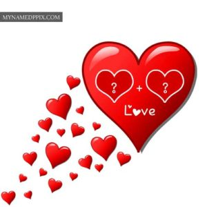Love Heart Alphabet Letters Profile Images Write Names