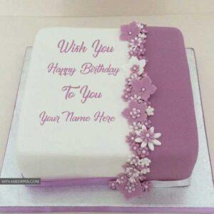 Write Name On Beautiful Birthday Cake With Name Photo Editor