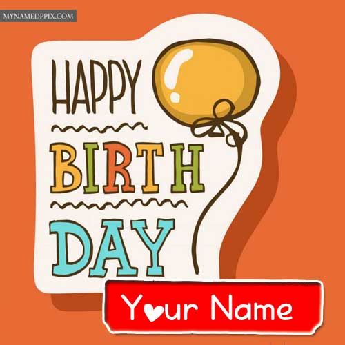 Happy Birthday Card Name Write Free Download Online Status Images