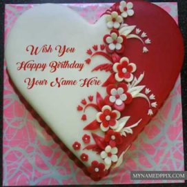 Latest Birthday Cake Name Write Wishes Pictures Send Online