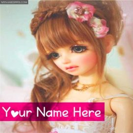 New Beautiful Barbie Doll Profile Write Name Pictures Create