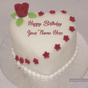 Birthday Greeting Cakes Name Write Photo Send Online Editor