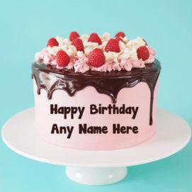 Birthday Cake Wishes Name Write Pictures Set Status Profile Free