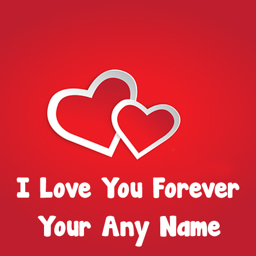 Write Name Love You Propose Forever Greeting Heart Cards Images
