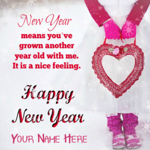 Beautiful New Year 2019 Wishes Quotes Message Name Greeting Card