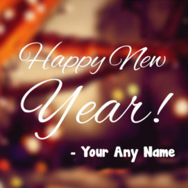 Beautiful Unique New Year Wishes Special Name Write Image Send