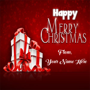 Merry Christmas Wishes 2018 Name Write Pictures Free Edit