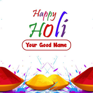 Create Holi Wishes Name Generate Card Image Free Online