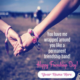 Friendship Day Quotes Send With Name Pic