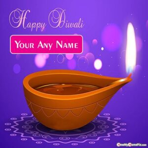 Diwali 2021 Best Wishes Pictures Your Name Write Greeting Card