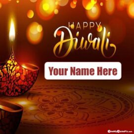 Diwali Festival Wishes 2021 Pictures Write Name Creative